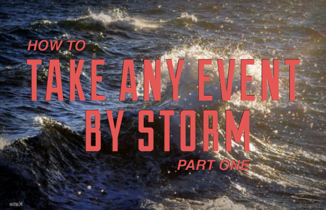 How to Take any Event by Storm with Social Media